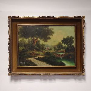Toni Bordignon, Πίνακας λάδι σε καμβά