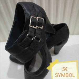 Γοβάκια μαύρα Νο36 SYMBOL