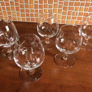 κρυστάλλινα ποτήρια κονιάκ