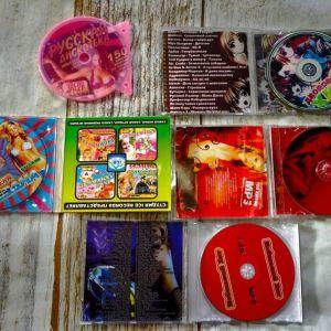 DVD 5 Τεμ. Ξενα τραγουδια.
