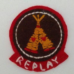 ''REPLAY'' Σήμα Ραφτό για Ρούχα