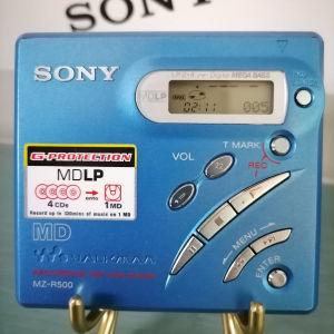 sony minidisc MZ-R500 ( μόνο αναπαραγωγή )