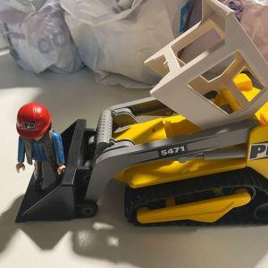 Playmobil εργοταξιο κ οχηματα κατασκευων