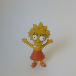 Φιγούρα The Simpsons Lisa, pvc, vintage