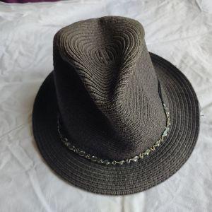 ψάθινο καπέλο για καλοκαίρι και παραλία