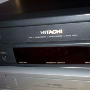 videos vcr vhs Videos  funay  hitachi  philips ,philips 2000 vr2334 & videocasete