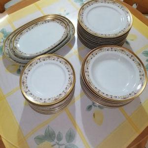 Σερβίτσιο φαγητού Porcelaine Vintage!!!