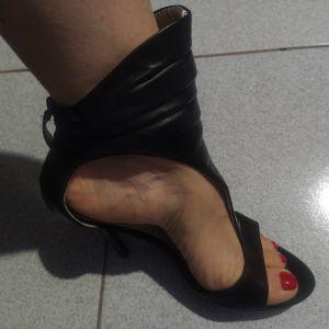 Πέδιλα μαύρα Marciano Guess