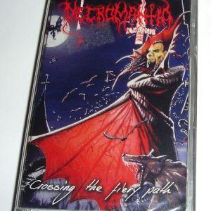 Necromantia - Crossing The Fiery Path (Κασέτα)