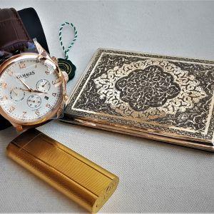 Gamages of London & Cartier Χρυσός & Ασημένια Ταμπακιέρα