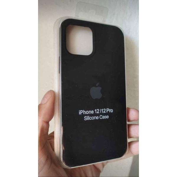 New. gia IPhone 12 / 12 Pro. Original OFFICIAL Apple thikes silikonis. olokenourgio. !
