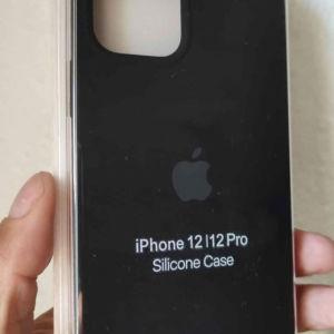 New. για IPhone 12 / 12 Pro. Original OFFICIAL Apple Θήκες σιλικόνης. Ολοκαίνουργιο. !