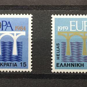 ΕΛΛΑΔΑ 1984 EUROPA CEPT MNH