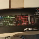 Gaming keyboard mouse and mousepad