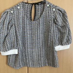 Μπλούζα crop top, medium, μια φορά φορεμένη