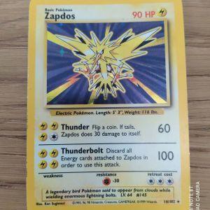 Κάρτα Pokemon Zapdos
