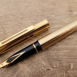 Sheaffer Targa 14K-585 Gold Nib Fountain Pen Στυλο Πενα