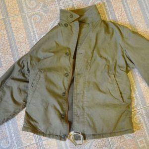 ΣΠΑΝΙΟ στρατιωτικό συλλεκτικό USA WW2 Vtg USN Deck Jacket M41 (size L) σε άριστη κατάσταση
