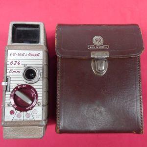 Bell & Howell 624 8mm κάμερα λήψης της δεκαετίας του '50.