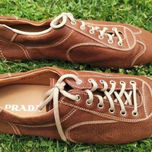 Prada Brown Leather Shoes No.11