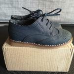 Παιδικά παπούτσια μπλε τύπου Oxford νούμερο 22