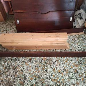 Κρεβατι ξυλινο