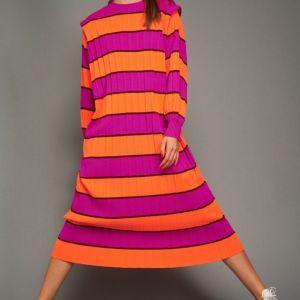 Karavan πλεκτό φόρεμα ολοκαίνουργιο