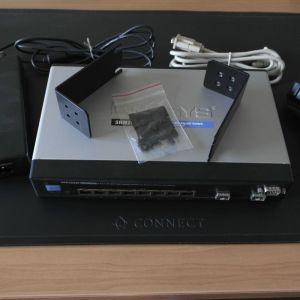 Linksys Cisco SRW2008P POE 8 port Switch