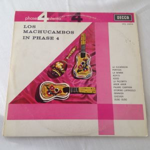 """Los Machucambos In Phase 4 - (33 RPM -Size: 12"""") Δίσκος Βινυλίου 1962"""