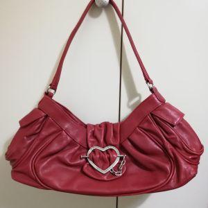 Τσάντα δερμάτινη Moschino
