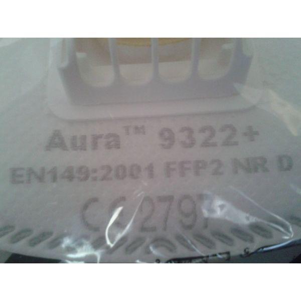 eponimes maskes FFP2 NR D tis 3m AURA 9322+