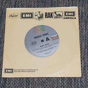 "MARIA VIDAL /ASHFORD & SIMPSON-Body Rock / Do You Know Who I Am 7"", 45 RPM 1984 MADE IN AUSTRALIA"
