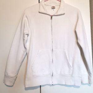 Ζακέτα γυναικεία fleece σε λευκό χρώμα