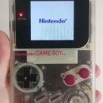 Gameboy classic ips v3 lcd + Tetris