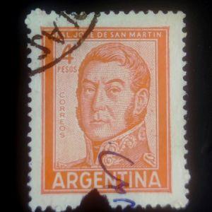 ARGENTINA, 1962,  JOSÉ DE SAN MARTÍN