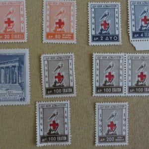 10 ενσημα 1961-1965
