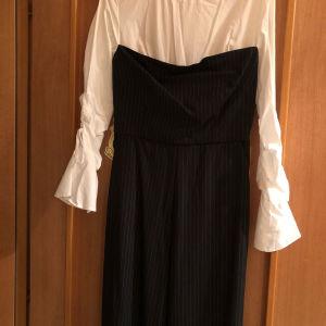 ολόσωμη παντελόνα/πουκάμισο Desiree ολοκαίνουργια με ετικέτα αρχική τιμή 85