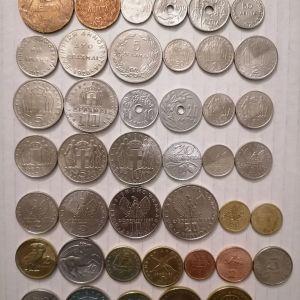 42 συλλεκτικα ελληνικά νομισματα