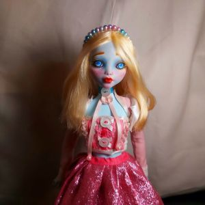 "OOAK Pastel Lolita Doll ""Alice"" (Lagoona Blue Repaint) Art Doll - ""Αλίκη"" Παστέλ Λολίτα Κούκλα Τέχνης"