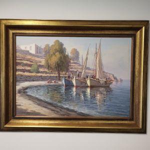 Πίνακας του Νίκου Κριδέρα