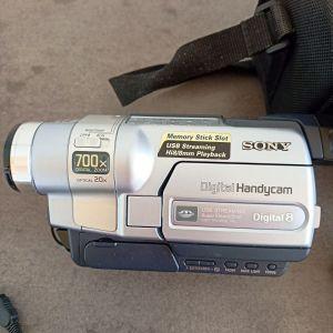 Sony Digital Handy cam Digital 8 DCR-TRV355E