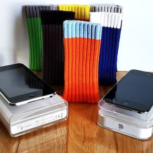 2 Apple iPod Touch+6 Θηκούλες-Καλτσάκια