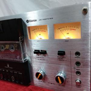 CLARION dual cassette deck MD-8080