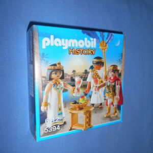 PLAYMOBIL 5394 HISTORY - ΚΑΙΣΑΡΑΣ ΚΑΙ ΚΛΕΟΠΑΤΡΑ