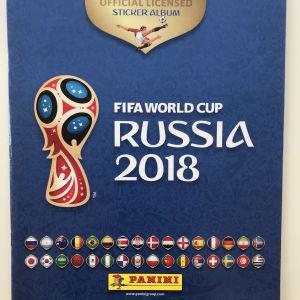 ALBUM PANINI FIFA WORLD CUP RUSSIA 2018