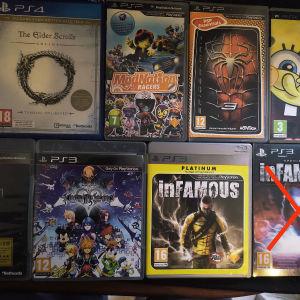 Πωλούνται Παιχνίδια PS3-PS4-PSP
