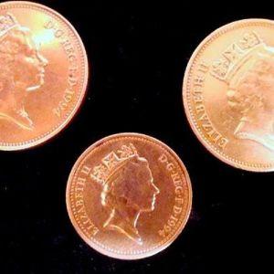 Παλαιά νομίσματα του Ηνωμένου Βασίλειου - τμχ 3.