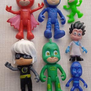 Φιγούρες πιτζαμο ήρωες