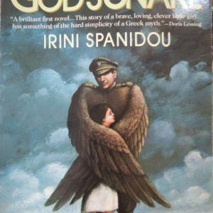 """Πωλείται το βιβλίο """"GOD'S SNAKE"""" IRINI SPANIDOU"""