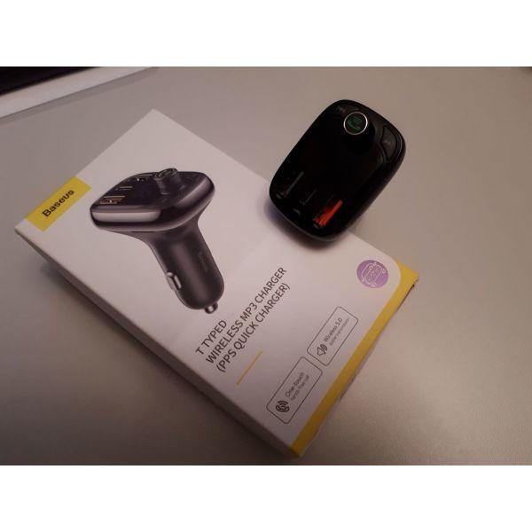 Bluetooth FM Transmitter MP3 BASEUS